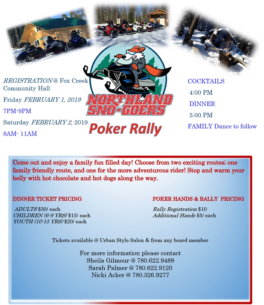 2019 Poker Rally Poster
